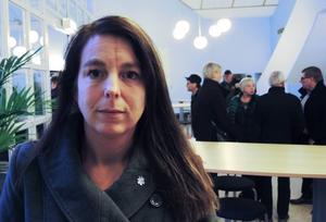 Jenny Nordahl, länsordförande SD.