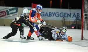 Närkamp med Bollnäs Ville Aaltonen vintern 2014.