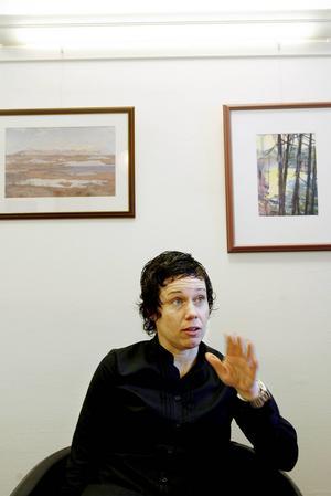 Lena Persson, affärsområdeschef för elhandel på Jämtkraft.