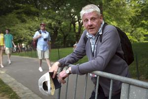Lennart Norell i Central Park.