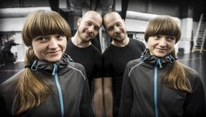 Lava Markusson och Jacub Medrzycki är nya dansare på Norrdans denna säsong.