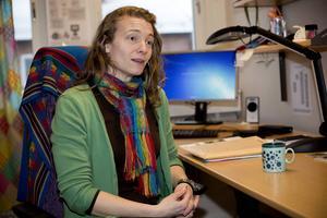 Rebecka Bjurhall, miljömålssamordnare på länsstyrelsen, är oroad.
