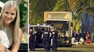 Ida Löfqvist från Sundsvall var i Nice under attentatet tillsammans med sin familj.