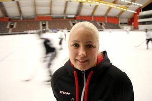 SAIK:s lagkapten Sofia Rådman gör sin 16:e säsong som spelare i klubben, och är revanschsugen efter fjolårets fiasko då SAIK blev utslaget i kvartsfinal.