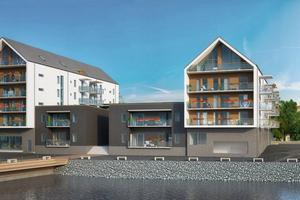 Den 1 juni startade försäljningen av de 51 lägenheterna längs Storsjö strand där den dyraste kostar drygt 5, 2 miljoner kronor.