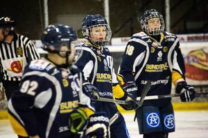 Erica Udén Johansson gjorde ett av Sundsvall Wildcats mål i seger mot SDE.