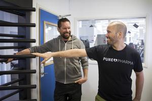 Niklas Berndt och Micke Berndt, delägare på Ego.