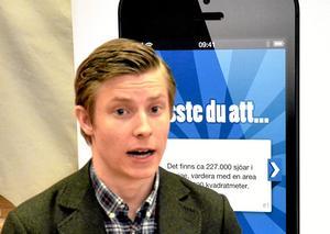 – Jag preparerar mig så gott jag kan inför intervjuerna på Handelshögskolan, säger Olof Svanberg.