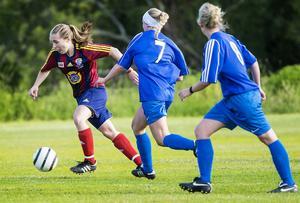 Selångers Agnes Cöster gjorde två mål mot Matfors.