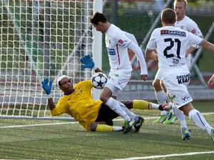 Härnösands FF – här i form av William Amamoo i aktion mot Helsingborg – var enda division 2-lag på herrsidan som ställde upp i DM i fjol. Det ser likadant ut i år, även om Anundsjö finns med bland de anmälda.