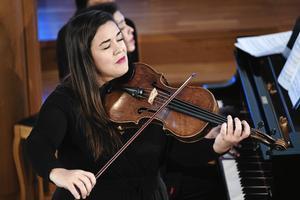 Violasten Jennifer Stumm svarade för för konsertens mest minnesvärda inslag.