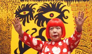 Yayoi Kusamas speciella värld visas nu på Moderna museet.