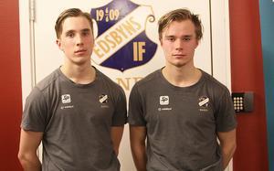 Finska superbröder – i Edsbyn även nästa säsong; Tuomas och Tommi Määttä.