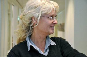 Rektor Lotta Lessnert tycker flytten har gått väldigt bra. Trots att skolan vuxit med en tredjedel har det inte varit några stora problem, säger hon.