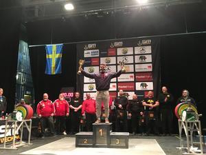 Amit Selberg, Sundsvalls AK, tog guld i SM.