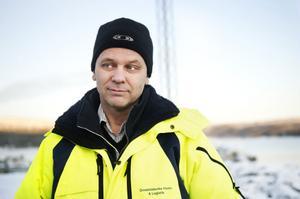 Mikael Johansson, hamnchef på Örnsköldsviks Hamn och Logistik.