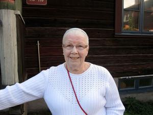– Jag skiljde mig 1984 och sedan dess har jag inte varit utanför Gävle. Jag har ju ingen bil, säger Majvor Skoglund.