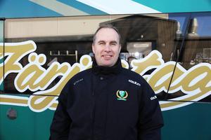 Färjestads tränare Fredrik Wilhelmsson gillar att Sveg spelar tufft.