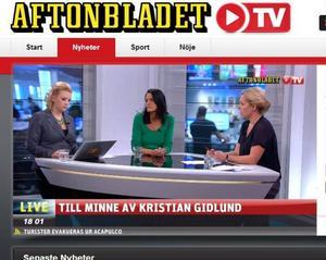 Aftonbladet TV har fler tittare än SVT Play enligt en rapport från MMS.Foto: Faksimil från Aftonbladet