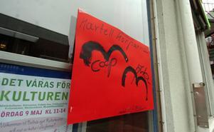 Ett av Hilding Anderssons plakat.