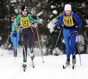 Emelie Andersson, Storvik och Jasmine Olsson, Söderala.