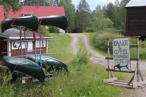 Redan nu kan man hyra kanoter och tandemcyklar hos företaget.