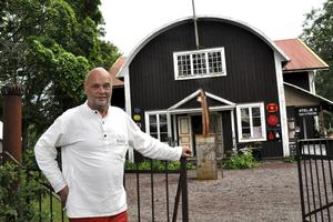 Peter Flinck driver Ateljé Y i Yttersätra, Stora Skedvi. Arkivbild