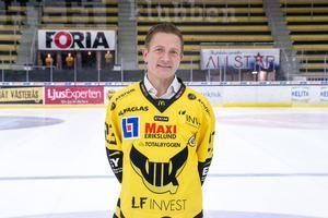 Mats Brokvist, klubbchef i VIK Hockey.