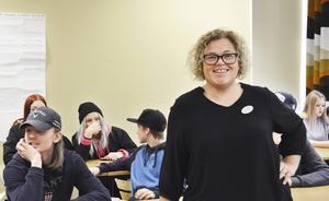 Caroline Lorentzon tycker att det viktigaste är att låta eleverna vara med och planera lektionerna.