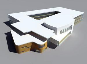 Så snart bygget av kunskaps- och kulturcentrat är klart flyttar Sjöängsskolans elever in tillsammans med särskolan och musikskolan. Delar av komvux verksamhet kommer också att finnas i byggnaden, liksom fritidsgård, bibliotek och en stor konserthall.