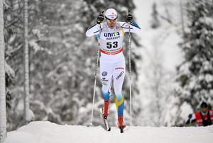 Anton Lindblad hoppas få dra på sig landslagsdräkten i världscupen.