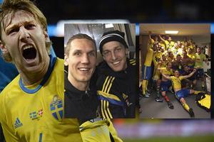 Emil Forsberg – en av Sveriges stora hjältar i play off-matcherna.