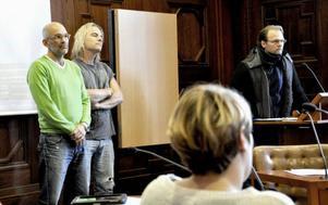 Projektet Startskott med Martin Kjellerstedt, Björn Höglund och Jens Ganman lyfte frågan om kulturhuset på allmänhetens frågestund på tisdagen.