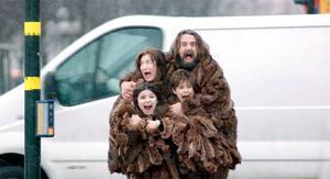 Årets julkalender på tv handlar om familjen Hedenhös. Foto: Svt