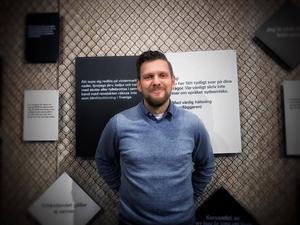 Jerker Bexelius är chef på Gaaltije och en av de drivande bakom utställningen.