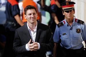 Frida Nordstrand minns en Leo Messi som på vägen hem från match gick iklädd t-shirt, mysbyxa och ryggsäck. Fem förändringens år verkar nu ha gått sedan dess.