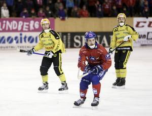 Mattias Widén var på hugget med två mål.