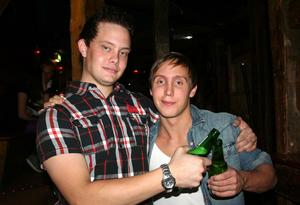 Konrad. Björn och Mattias