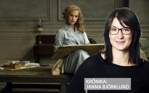 Janna Björklund skriver om Alicia Vikander, här i bakgrunden som Gerda Wegener i