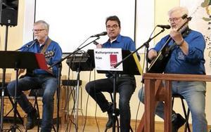 Gruppen Trio Fobi svarade för ett välapplåderat framträdande när man gästade PRO Krylbo den 22 mars.