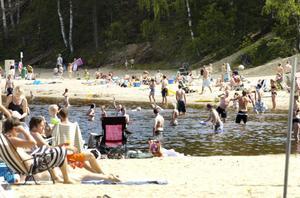 Orbaden är ett av baden som är godkända.Foto: Katarina Hansson/Arkiv