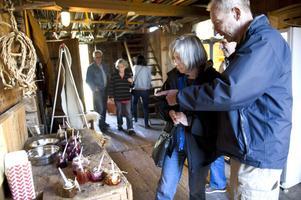 Det fanns många olika smaker att välja bland för besökarna på Björgården.
