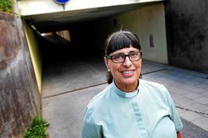 Anna Lönneborg, diakon och samordnare för Vuxna på stan.