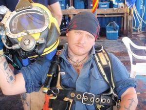 I många år jobbade Daniel Bakke som dykare med uppdrag på bland annat oljeriggar runt om i världen.