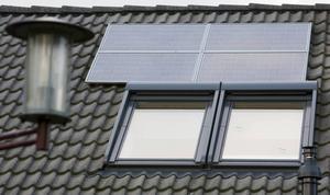 Solceller är framtiden. tror Miljöpartiet.