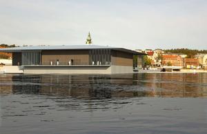 Förslaget Hambo, av Gustav Apell och August Wiklund vann arkitekttävlingen om ett nytt badhus på Kattvikskajen 2008. Något nytt badhus blev det dock inte den gången.