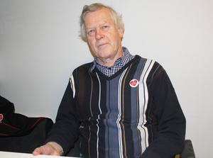 Nils-Gunnar Molin, ordförande i föreningen Sollefteå Framtidens akutsjukhus.