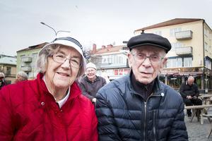 Eva Vikman och Åke Vikman.