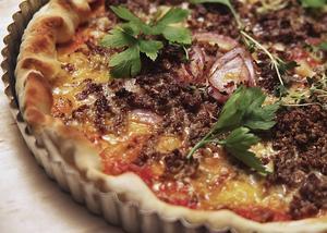 Pizza i pajform blir garanterat en favorit.   Foto: Dan Strandqvist