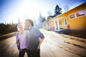 Maria Lindberg och Christer Andersson är ska driva paviljongen framåt.